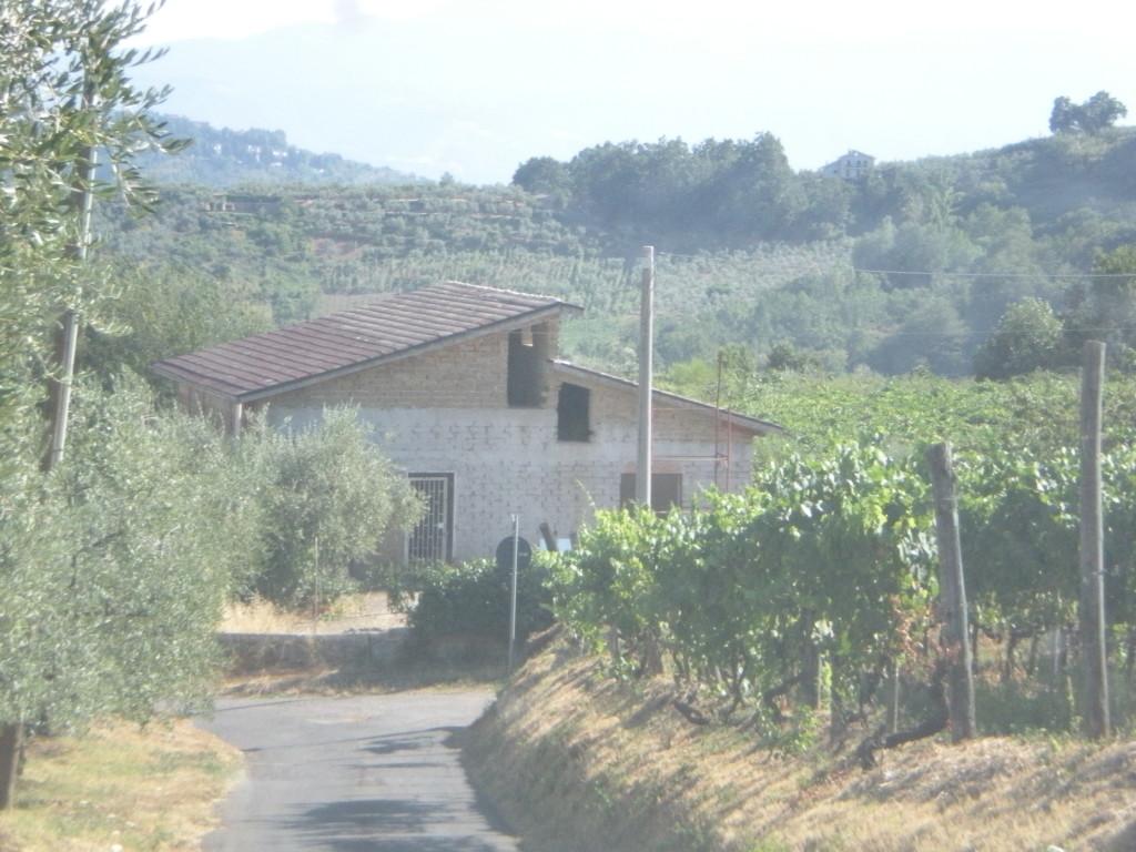 Vendita fabbricato agricolo residenziale da rifinire con - Casa abusiva su terreno agricolo ...
