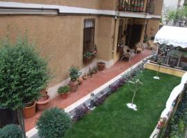 Vendita appartamento in ottime condizioni con giardino a Olevano Romano