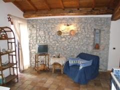 Affitto caratteristico appartamento indipendente con corte a Olevano Romano