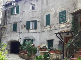 Vendita appartamento di grandi dimensioni con terrazzi a Olevano Romano