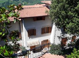 Vendita villino panoramico con rustico e garage a Olevano Romano