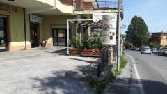 Affitto locale commerciale di mq 130 con servizi e spazio esterno a Olevano Romano